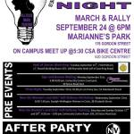 Guelph-Wellington Take Back the Night 2015