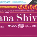 Vandana Shiva comes to Guelph!