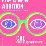 **HIRING EXTENDED** OPIRG Chief Returning Officer Hiring – 16 February 2018