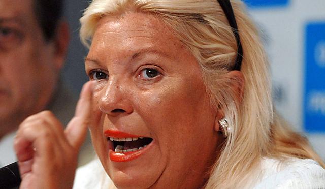 La diputada nacional por la Coalición Cívica-ARI Elisa Carrió - Foto: