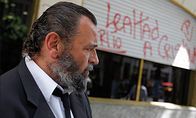 El fiscal, que fue suspendido anoche, perdió la votación por un voto. Foto: Emiliano Lasalvia