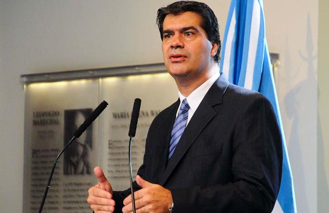 Jorge Capitanich Jefe de Gabinete de Ministros en conferencia de Prensa - Foto: Presidencia de la Nación