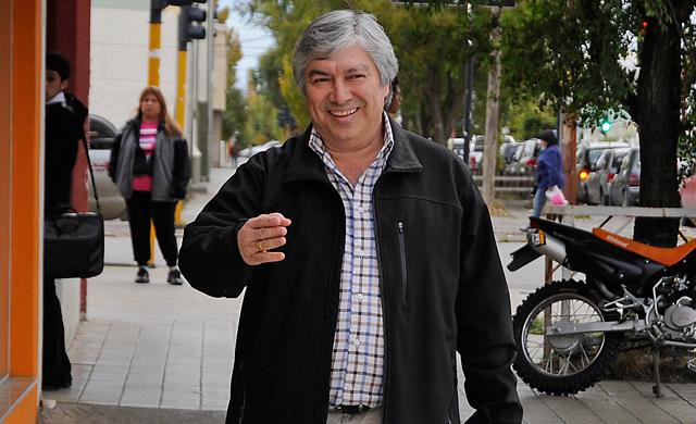 El empresario Lázaro Baéz - Foto: OPI Santa Cruz/Francisco Muñoz