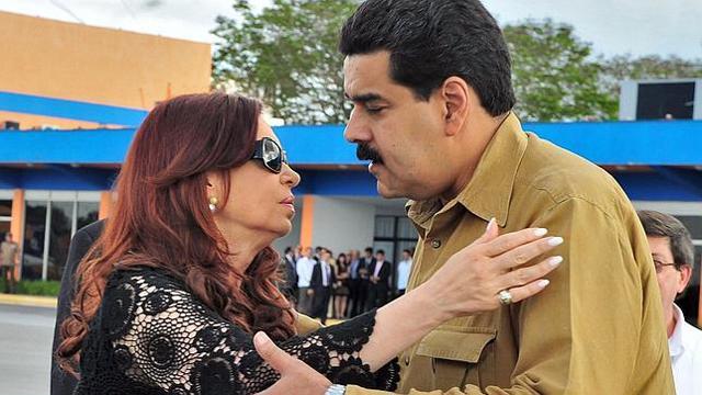 Cristina Kirchner junto a Nicolas Maduro - Foto: Archivo