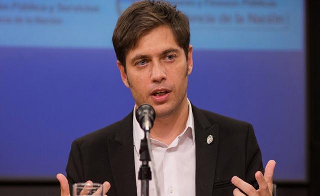 El Ministro de la Economía de la Nación Axel Kicillof - Foto: