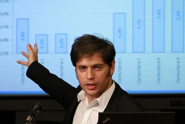 El Ministro de Economia de la Nación Axel Kicillof - Foto: