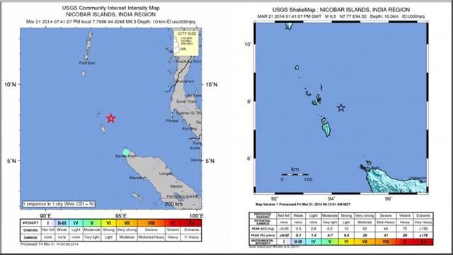 En medio de la búsqueda del avión, un terremoto en el Índico