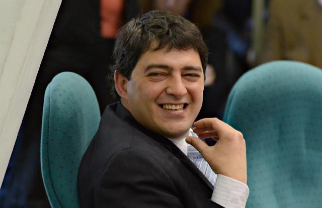El Diputado de La Cámpora José Matías Bezi - Foto: OPI Santa Cruz/Francisco Muñoz