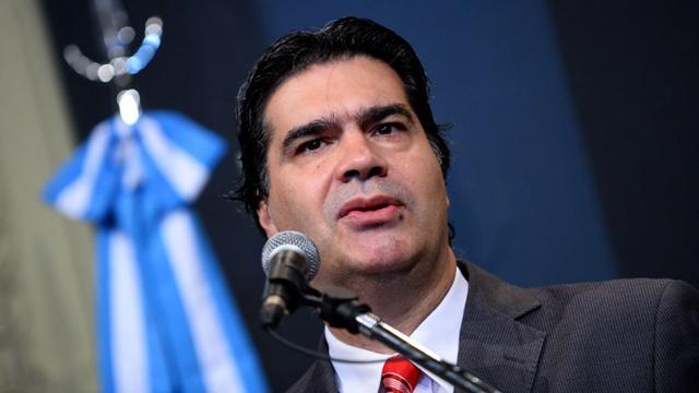 El jefe de Gabinete, Jorge Capitanich Jefe de Gabinete - Foto: