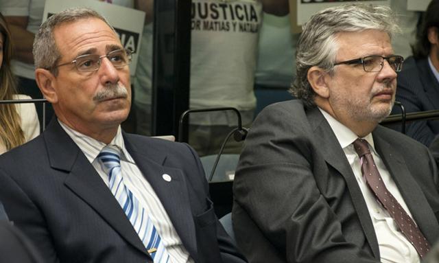 los ex secretarios de Transporte Ricardo Jaime y Juan Pablo Schiavi - Foto:  CJI