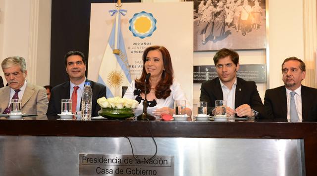 Ayer la Presidenta de la Nación en Casa Rosada - Foto: Presidencia