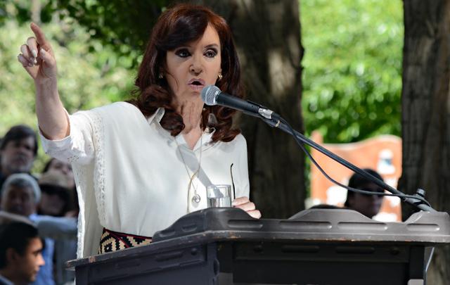 La Presidenta de la Nación el pasado febrero en El Calafate - Foto: OPI Santa Cruz/Francisco Muñoz