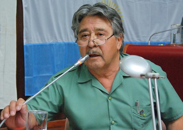 El Diputado Anselmo Montes - Foto: