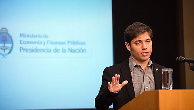 El Ministro de Economía de la Nación Axel Kicillof - Foto: Prensa Ministerio