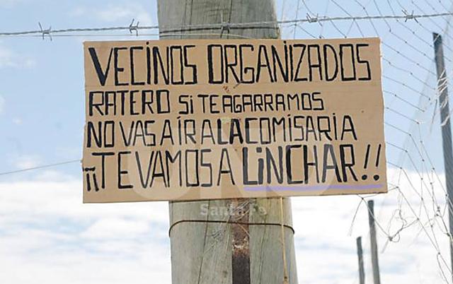 Los linchamientos en Argentina - Foto: Web