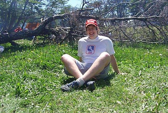 El joven Lucas Moussou asesinado en Río Turbio - Foto: Fecebook