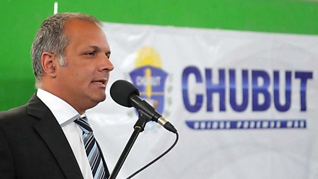 El Gobernador de Chubut Martín Buzzi - Foto: Prensa Gobierno