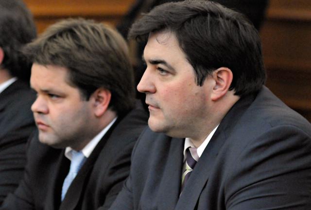 Los ex ministros Ariel Ivovich y José Blasiotto - Foto: OPI Santa Cruz/Francisco Muñoz
