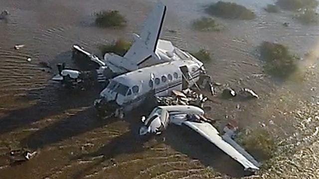 La avioneta no había podido aterrizar en Carmelo por la niebla y regresó a San Fernando