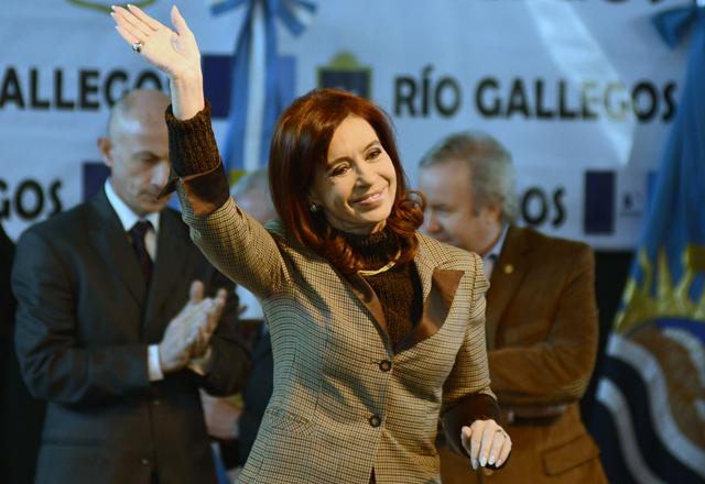 La Presidenta de la Nación en Río Gallegos - Foto: OPI Santa Cruz/Francisco Muñoz