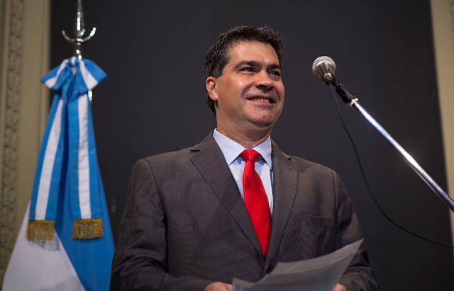 El jefe de Gabinete, Jorge Capitanich - Foto: Presidencia