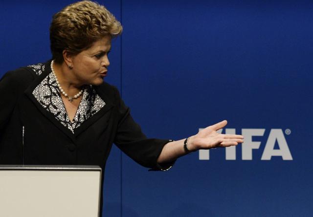 Dilma y su gobierno, inquietos por el impacto de la catástrofe del Mundial