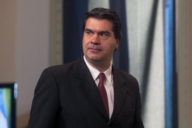 Capitanich denunció un complot de jueces de EE.UU. y buitres