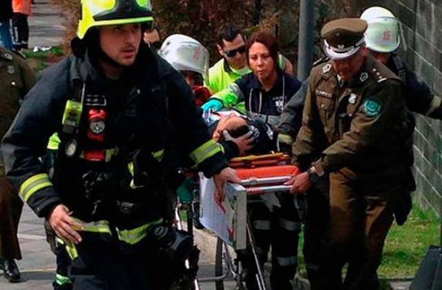 Otra bomba y susto en Chile