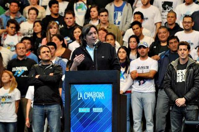"""Máximo Kirchner: """"Si están tan interesados en terminar con el kirchnerismo, por qué no compiten con Cristina"""""""