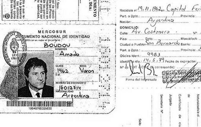 Boudou presentó tres copias de su DNI con direcciones falsas