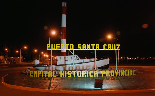 La localidad de Puerto Santa Cruz - Foto: OPI Santa Cruz/Francisco Muñoz