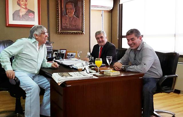 El PCET, el partido de Hugo Moyano, se lanza oficialmente en Chubut y apoya a Mario Das Neves como gobernador para el 2015