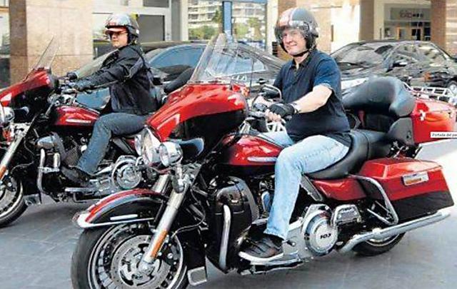 """La Harley Davidson de Boudou también está """"floja de papeles"""""""