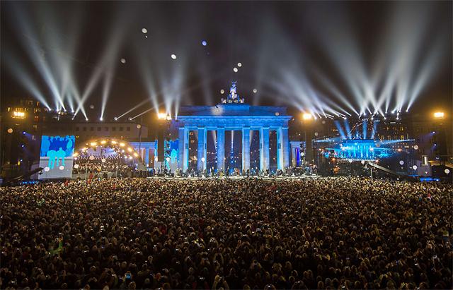 Berlín recordó el día en que su sueño se hizo real