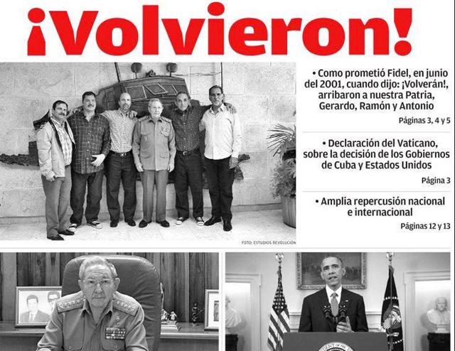 Giro histórico para América: EE.UU. y Cuba reanudan sus relaciones diplomáticas