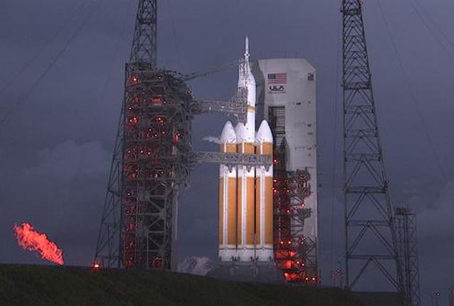 La NASA lanzó Orion, prueba clave para la conquista de Marte