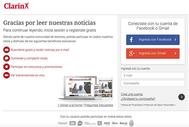 Clarín y La Nación digital, van hacia una irremediable pérdida de lectores online