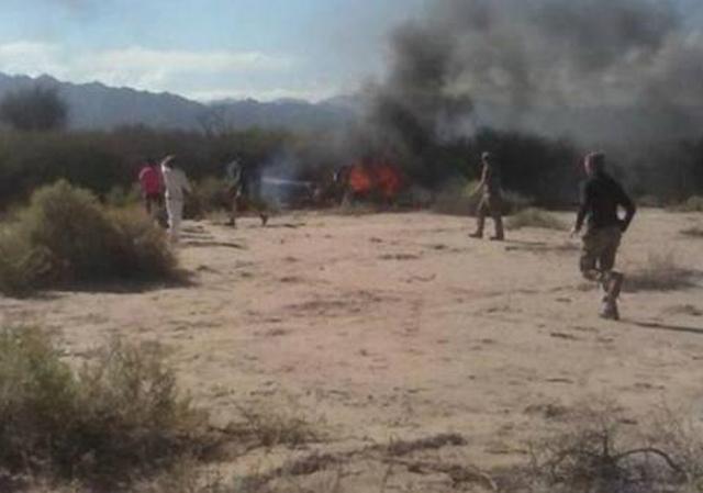 Chocaron dos helicópteros en pleno vuelo: 10 muertos
