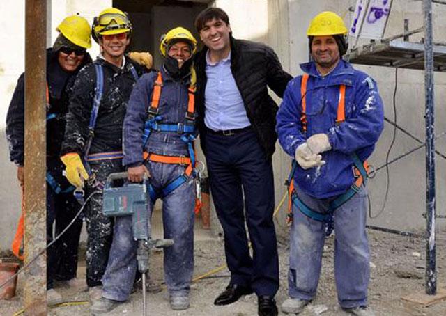 Mientras Diego Bossio hace campaña en Santa Cruz, con Pablo González, es investigado por enriquecimiento ilícito - Foto: Anses