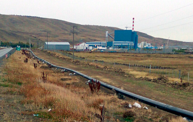 La usina termoeléctrica de Río Turbio - Foto: OPI Santa Cruz