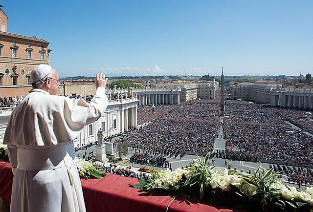 """El Papa pidió una """"una intervención concreta"""" para proteger a los cristianos perseguidos"""