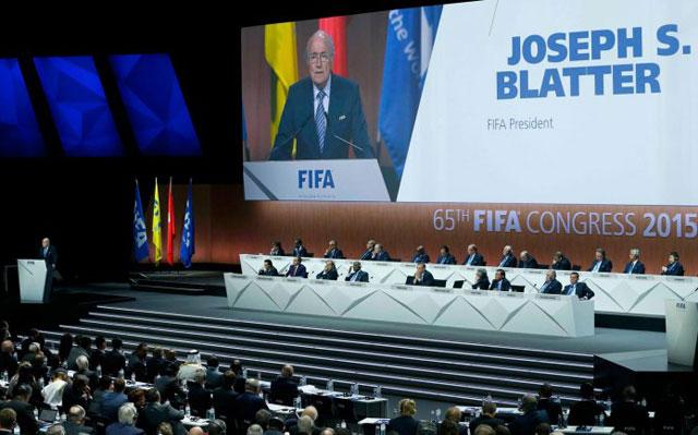 Blatter fue reelegido presidente de FIFA