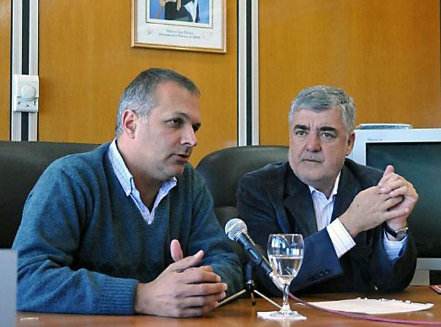 """Falta poco para el abrazo de Das Neves y Buzzi, """"por la gente"""" y """"en beneficio de la provincia"""""""