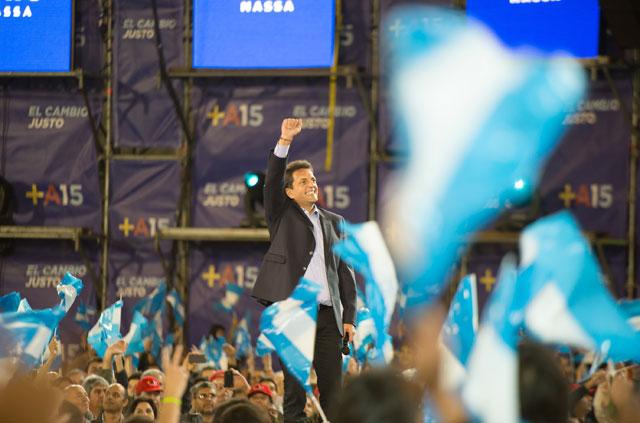 """Massa: """"Voy a meter presos a los corruptos y a barrer con los ñoquis de La Cámpora"""""""