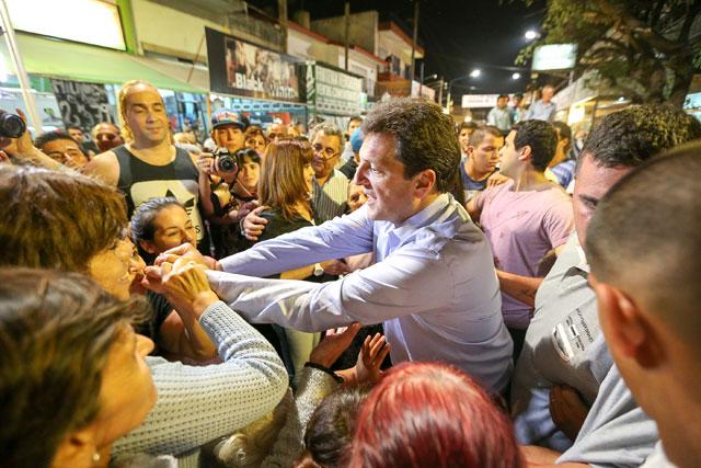"""Massa: """"No creo en el país de Cavallo, ni creo en el país de Kiciloff, quiero el país de Lavagna que es el país del crecimiento ordenado"""