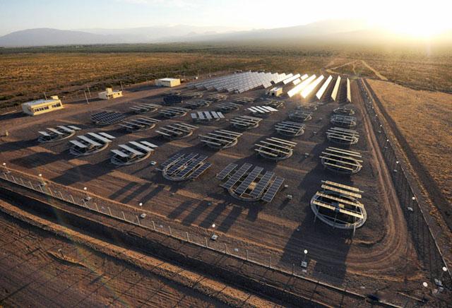 """La denominada Planta Fotovoltaica Piloto """"San Juan I"""" - Foto: Inti"""