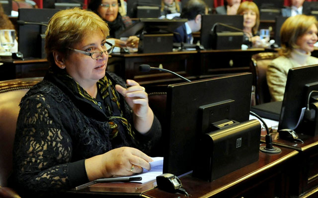 Maria Ester Labado Senadora Nacional Frente para la Victoria - Foto: