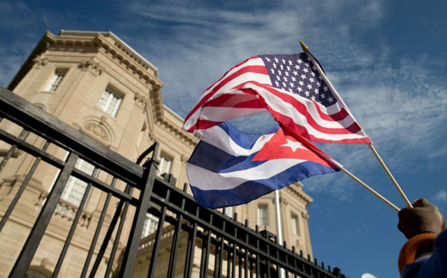 Histórico: después de 54 años, Cuba reabrió su embajada en Estados Unidos