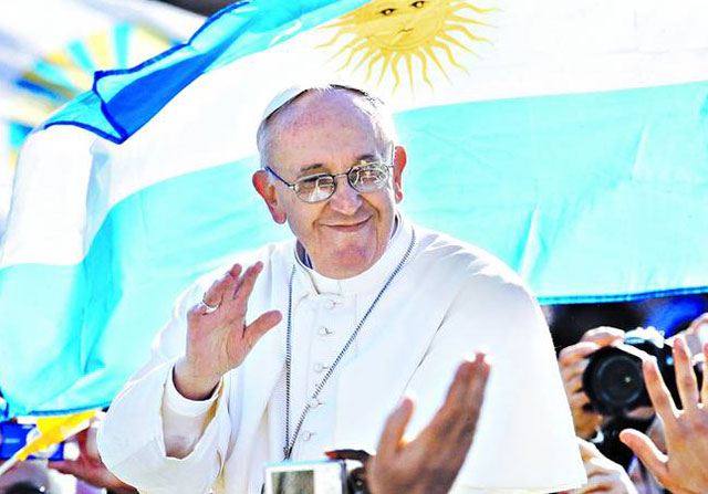"""Inusual mea culpa del Papa a la clase media: """"Debo profundizar más"""""""