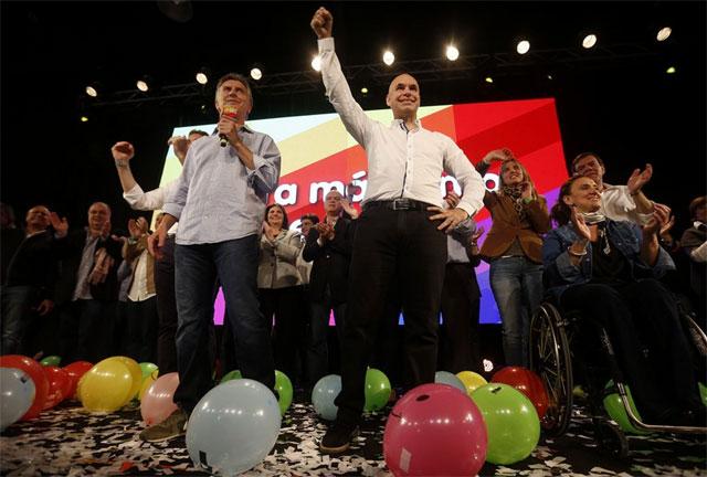 """Macri: """"En Córdoba y en la Capital, el 80% de la población no acompañó al gobierno nacional"""" - Foto: La Nación"""